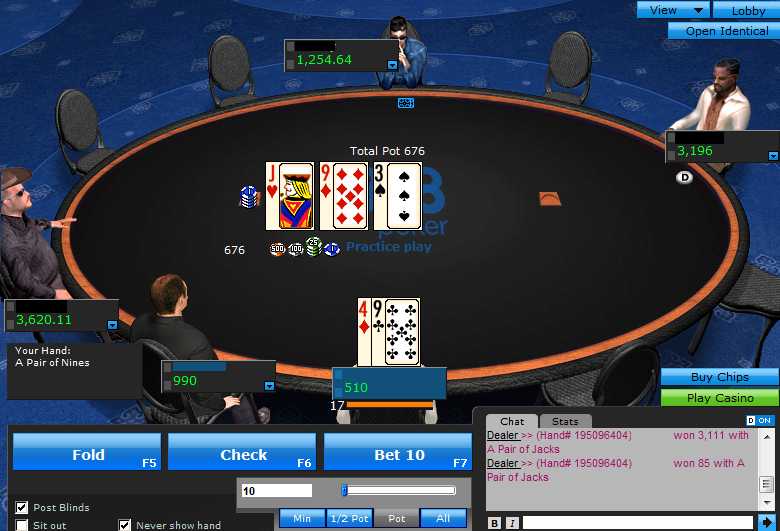 888 poker rigged