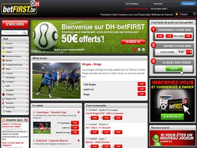 Parier sur BetFirst, site de paris sportifs légal en Belgique