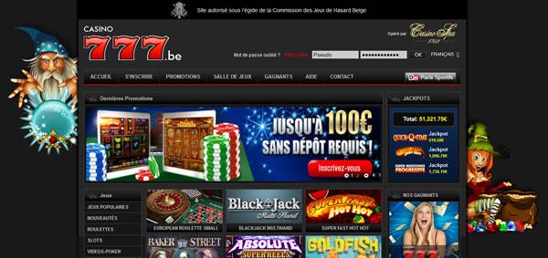 777 casino belge en ligne